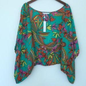 NWT Trina Turk Silk Kimono
